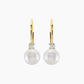 CULTURED-AKOYA-PEARL-_-DIAMOND-EARRINGS-LEVERBACKS-14K-YELLOW-GOLD-1